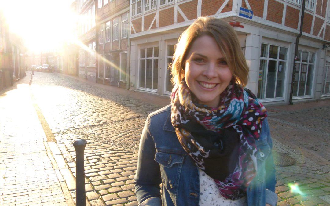 Lächeln, meine Expedition in der Stadt